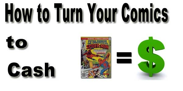 How to Sell Your Comic Books